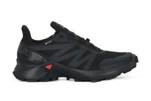 SALOMON-SUPERCROSS-GTX-W-Scarpe-Trail-Running-Donna-GORE-TEX-Black-408092