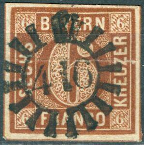 Bayern-4-I-mit-geschlossenem-Muehlradstempel-416-allseitig-vollrandig-geschnitten