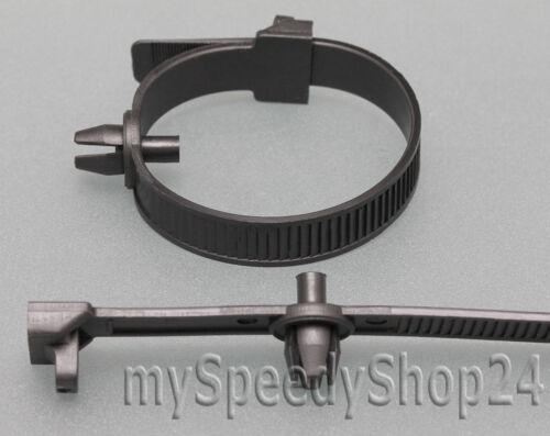 10x Motorraum Kabelbinder Kabelbaum Befestigungsbinder Clips Mercedes