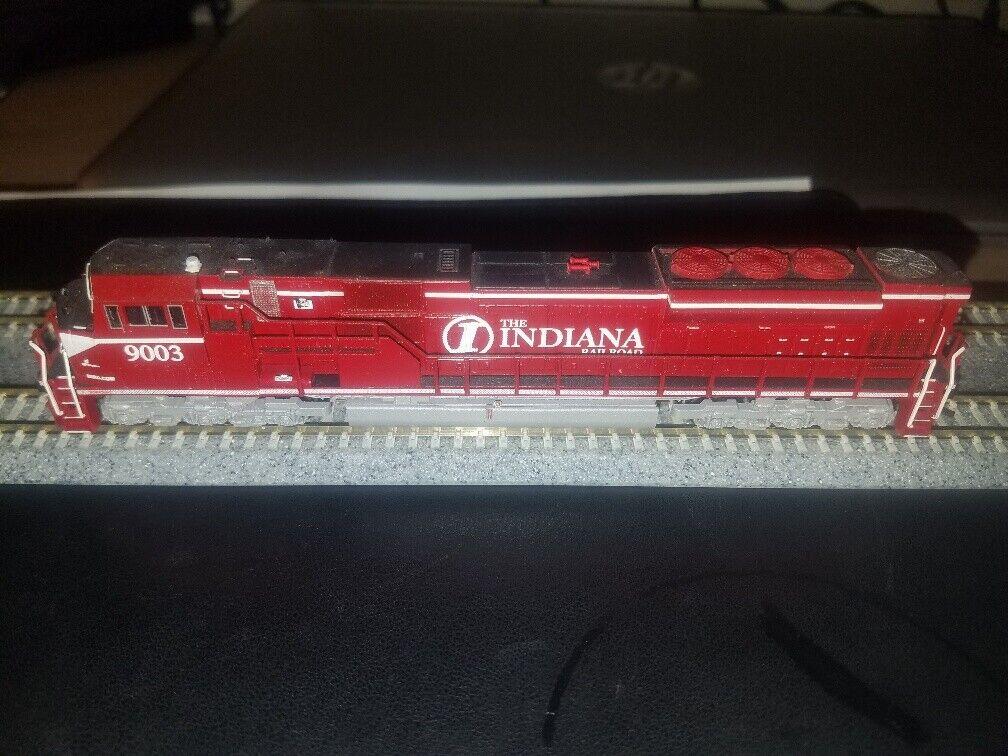 ganancia cero N Kato SD80 90 90 90 Indiana Railroad  9003 Pintado Personalizado & detallada Dcc Listo  venta caliente