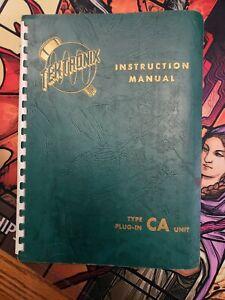 Original-Tektronix-Type-CA-Plug-In-Unit-Instruction-Manual