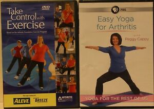 2 arthritis dvd take control with exercise the foundation