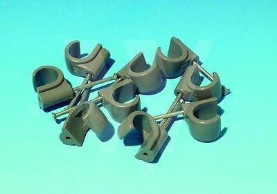 100 x Hepworth Hep2O 15mm nail in pipe clips. Hep20 Hep 20 2O on
