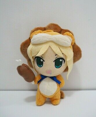 """Nendoroid 50 Fate//Stay Night Tiger Colosseum Saber Lion 4/"""" PVC Anime Figure Toy"""
