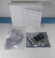 Matrox Quad 128MB PCIe x16 Video Graphic Card w/4 DVi Display Cable QID-P128LPAW
