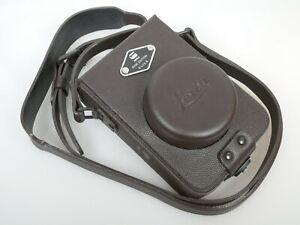 Leica D-LUX 6 Leder Tasche EDITION BY G-STAR RAW leather case NEUWERTIG MINT