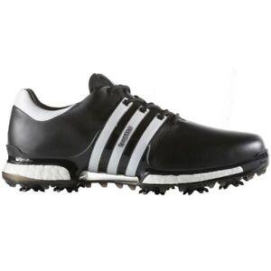 5b5c14501b787 adidas 2018 Tour 360 Boost 2.0 Waterproof Leather Golf Shoes Core  Black footwear White UK