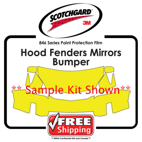 3M 846 Scotchgard Paint Protection Film Hood Bumper Fen Kits for Subaru