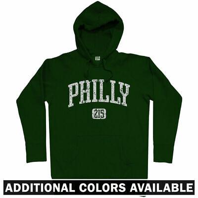 promo code 9274c 74152 Philly 215 Philadelphia Hoodie - PA 76ers Eagles Phillies Flyers USA - Men  S-3XL | eBay