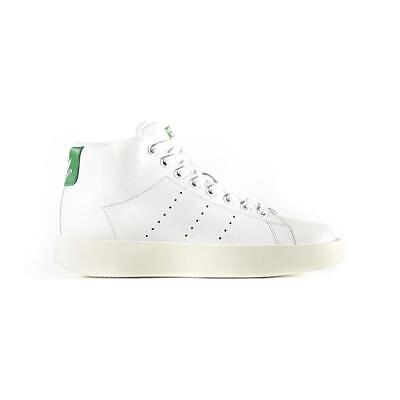 Adidas Originals Femme Stan Smith gras Mi Baskets Blanc