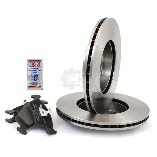 2X Bremsscheiben Beläge hinten Scheibenbremse für NISSAN Voll 1240550