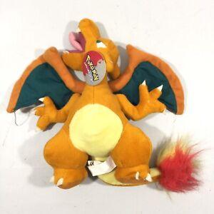 1995-Nintendo-Pokemon-CHARIZARD-10-Plush-Stuffed-Toy-Rare-With-TAG