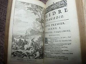 Oeuvres-de-Racine-1687-Tome-2-Phedre-gravures-rare