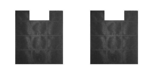 2 Stück Aktivkohlefilter zu Amica KF17147 Umluft Ersatzfilter Geruchsfilter SET