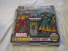 Toy Biz Marvel Legends Face-Off Arch-Enemies Iron Man Vs. Mandarin