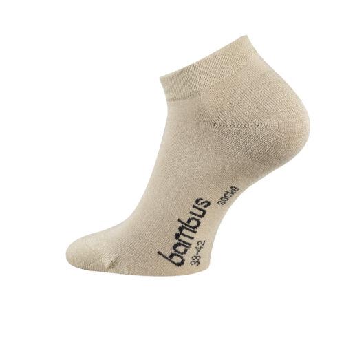 Bambus-Sneakersocken Sneakers Bambus-Socken Socken Damen und Herren 12 Paar