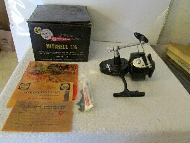 Vintage 1960's Garcia Mitchell 386 Fishing