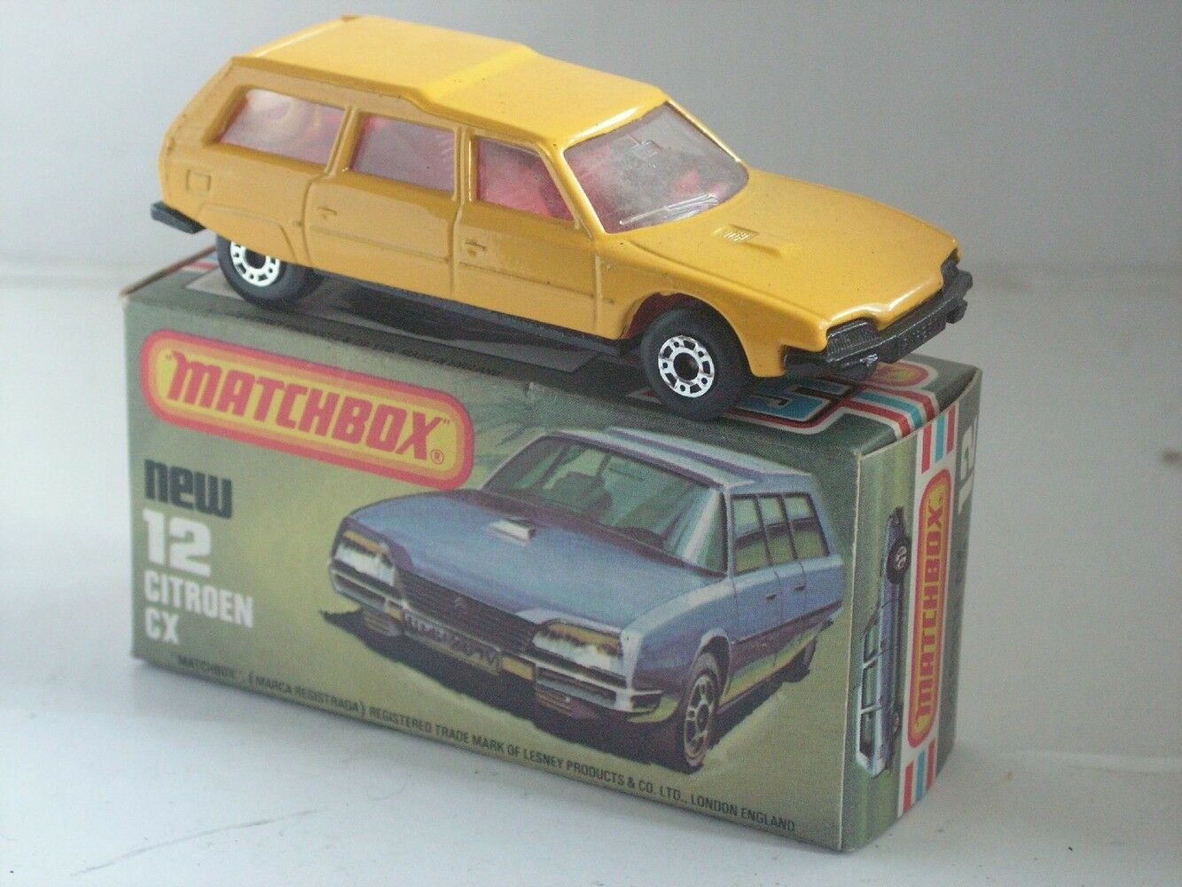 MATCHBOX MATCHBOX MATCHBOX SUPERFAST 12 CITROEN CX BREAK  MIB NEUF BOITE 82bd35