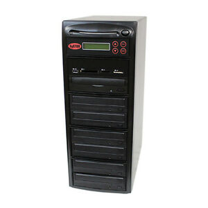 SySTOR 1-6 USB/SD/CF/MS/MMC MultiMedia Backup Copier to CD DVD Duplicator
