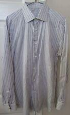 Ermenegildo Zegna Men's Long Sleeve Dress Shirt Regular Fit 41/16 EUC