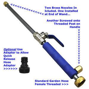 garden hose high pressure spray wand attachment nozzle power washer deck car - Best Garden Hose Nozzle