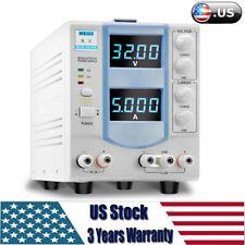 Led Digital Display Variable Linear Adjustable Lab Dc Bench Power Supply Ac 110v