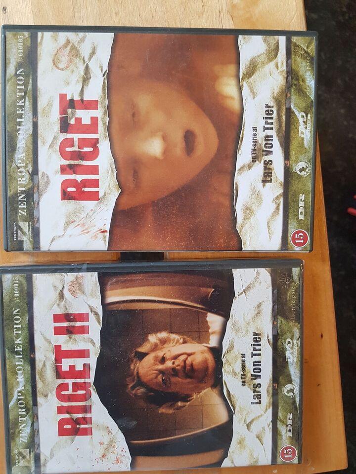 Riget, instruktør Lars von Trier, DVD