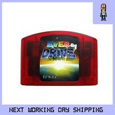 EVERDRIVE 64 Latest V3 NTSC Version KRIKZZ SD slot Brand NEW RED EDITION