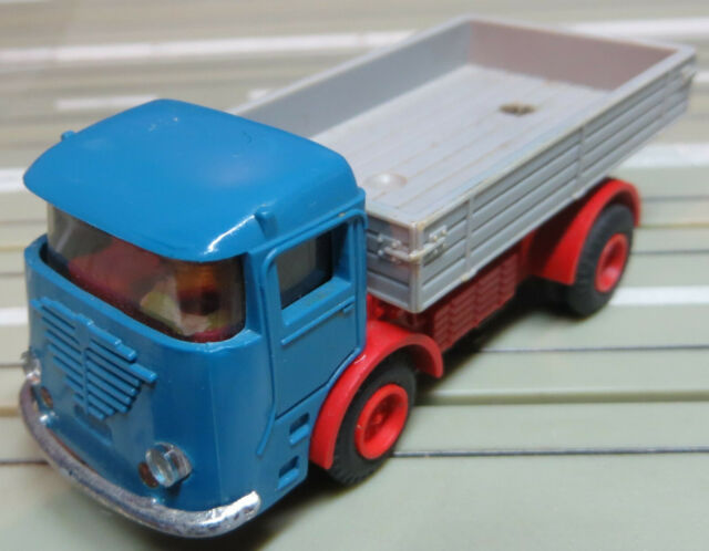 Faller Ams Büssing Truck With Zinc Gearbox, 60er Years, Toys