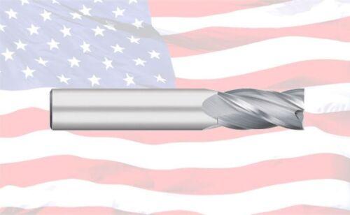 "3//8/"" TITAN USA 4 FLUTE SINGLE END REG CARBIDE END MILL TC10524"