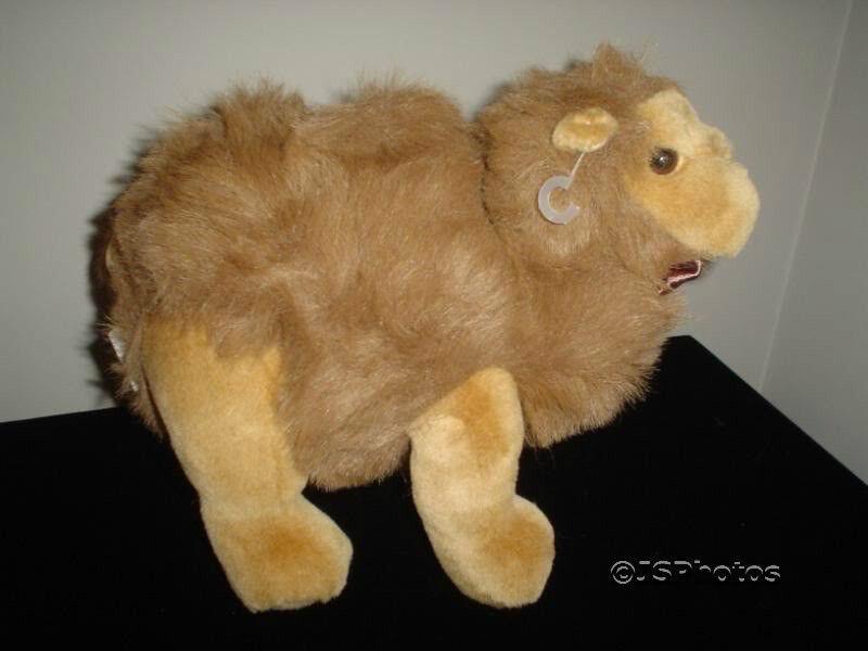 Ganz Bros 1997 Camel Soft Plush CH2130 10 Inch Retirosso
