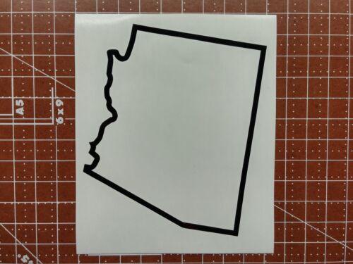 Arizona State Outline Decal Sticker