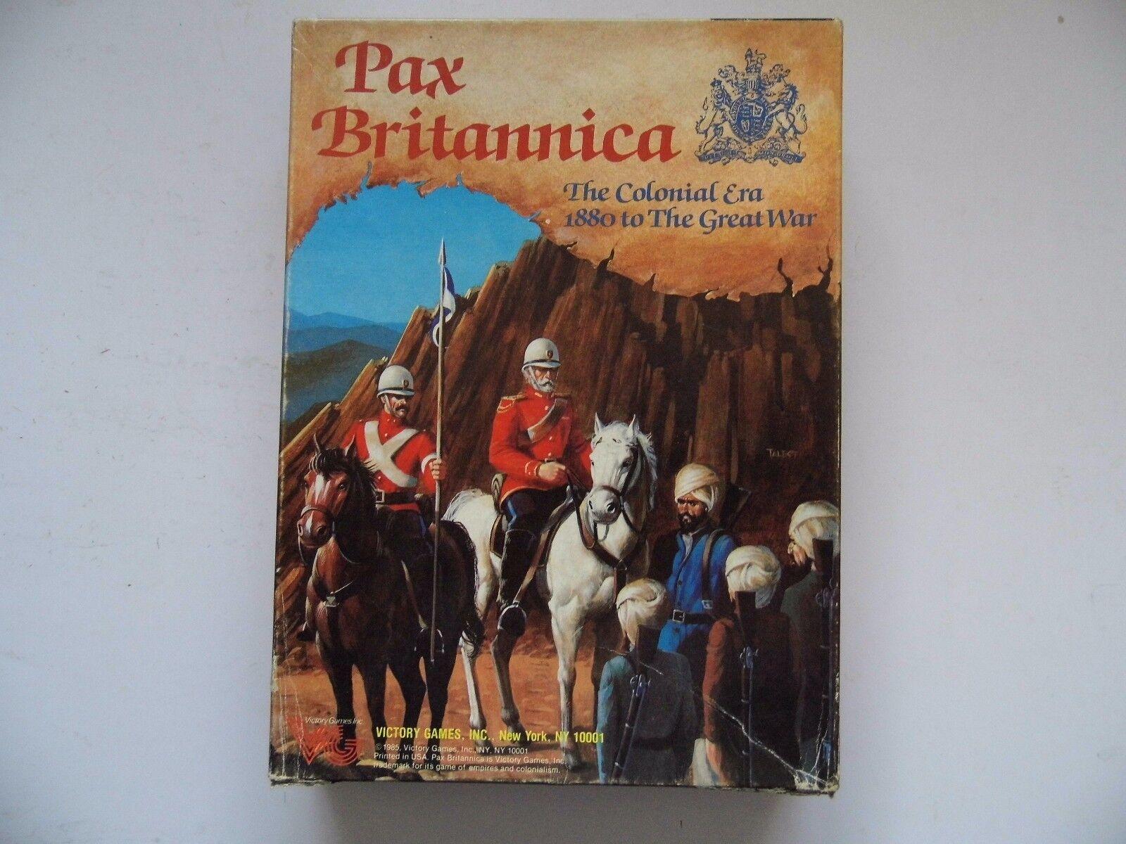 Pax Britannica complet par Victory Games