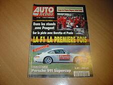 Auto hebdo N°926 Alfa 164 Q4.911 Carrera Supercup