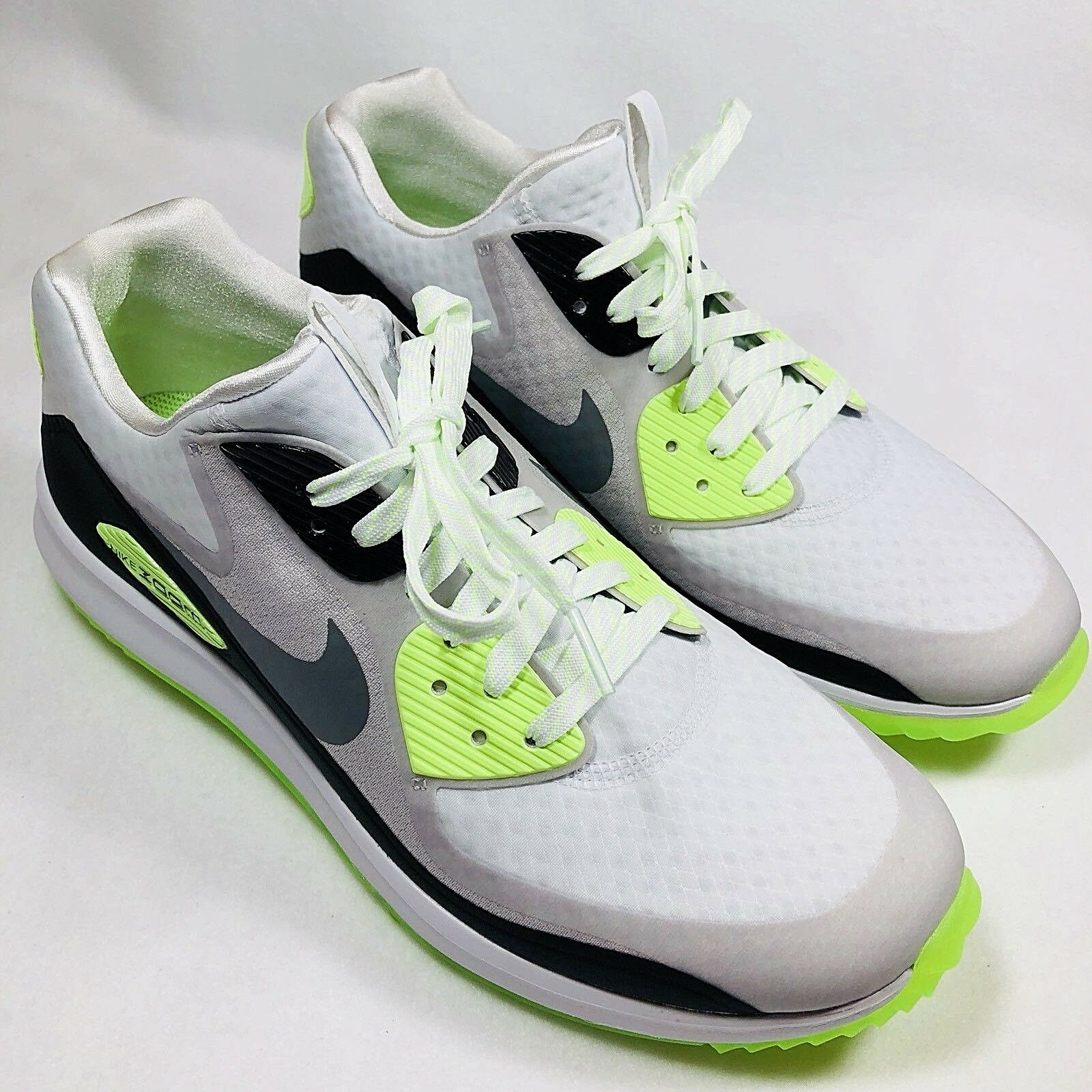 New Nike Air Zoom 90 IT Rory McIlroy 9 Golf Shoes Men's Sz 9 McIlroy (844569-102) 621067