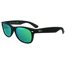 99b4ab3725 item 1 Ray-Ban Sunglasses New Wayfarer 2132 622 19 Rubber Black Green Flash  Mirror S -Ray-Ban Sunglasses New Wayfarer 2132 622 19 Rubber Black Green  Flash ...