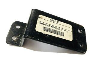 MG-TA-TC-REAR-NUMBER-PLATE-BRACKET-BLACK-NEw-Old-Stock-84854-406-330