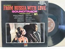 FROM RUSSIA WITH LOVE- James Bond 007 Soundtrack LP (John Barry) 1963 VG++