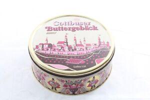 Ancienne-Boite-de-Conserve-Boite-a-Biscuits-Konsum-Sables-Vide-Collector-Vintage