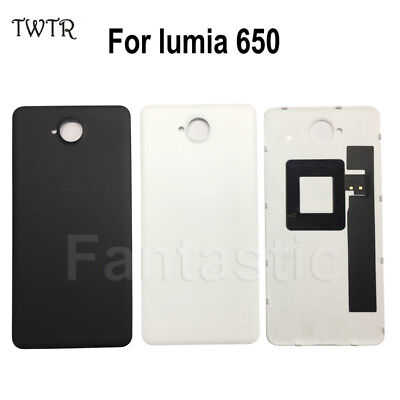 best service a9391 923b4 Brand New Back Cover for Microsoft lumia 650 Battery Cover Rear Housing  with NFC | eBay