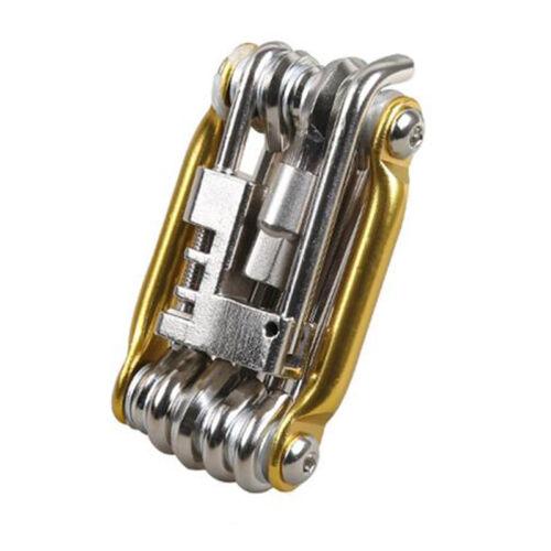 11 Multi Tool Bicycle Bike Allen Hex Keys Screwdriver Chain Link Tool MTB ROAD E