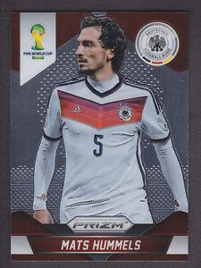 Panini Prizm Copa del Mundo 2014 tarjeta base # 84 Mats Hummels