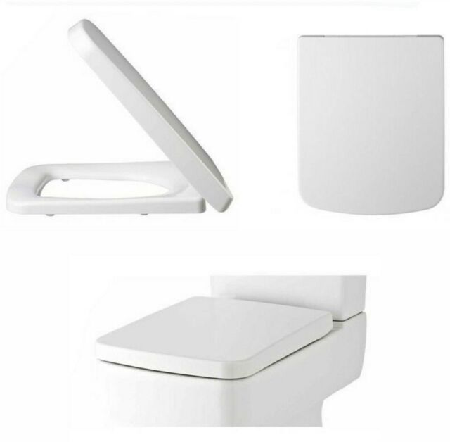 Prime Square Soft Close Toilet Seat Top Fix Easy Clean White Replacement Ultra Nch198 Frankydiablos Diy Chair Ideas Frankydiabloscom