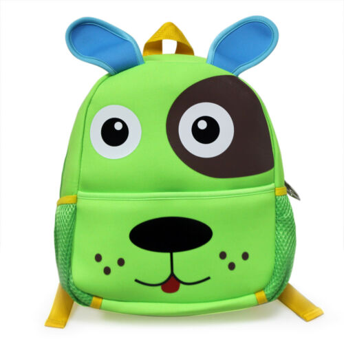 Baby Kid Animal Dog Backpack Boys School Bag Rucksack Children Satchel JISZ