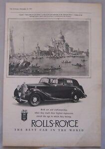 1950-Rolls-Royce-Original-advert-No-2