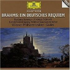 BARBARA BONNEY/CARLO MARIA GIULINI/WP/+ - EIN DEUTSCHES REQUIEM  CD BRAHMS NEU