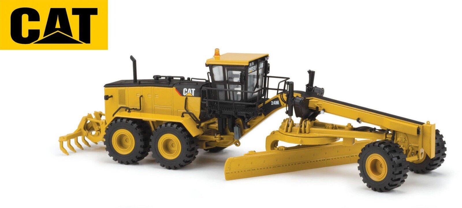 Norscot 55264 Cat Caterpillar 24M Motor Grader Diecast 1 50 scale Toy