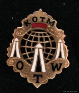 KNIGHTS-OF-THE-MACCABEES-KOTM-Tent-OTW-Vintage-PIN