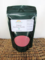 Organic Beet Root Powder 4oz Or 112gram (beta Vulgaris) With Free Shipping