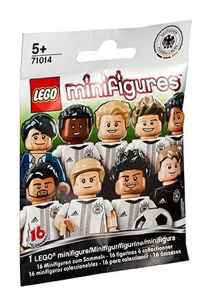 50x LEGO Minifiguren 71014 -  DFB - Die Mannschaft  NEU OVP